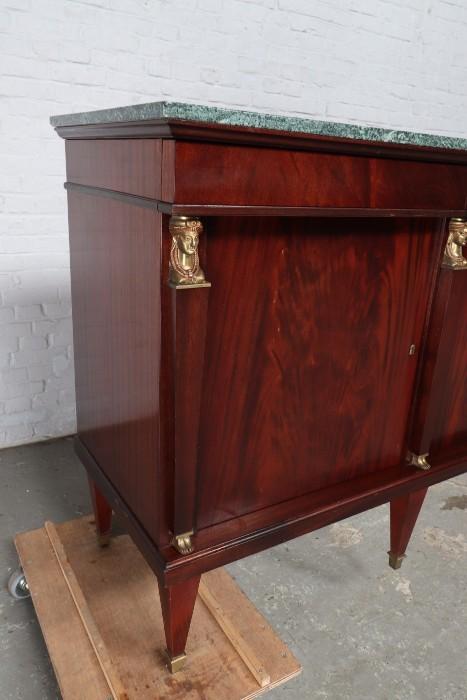 品番8732現地在庫販売フランス原産アンティーク家具マホガニー製ダイニングルーム9点セット1940年_画像4