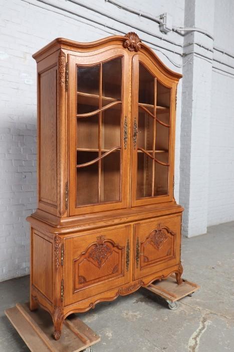 品番8799ヨーロッパ市場在庫品アンティーク家具ダイニング9点セット現地在庫商品1920年代ベルギー原産オーク製_画像5