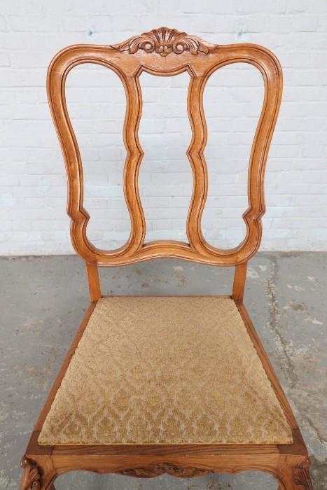 品番8799ヨーロッパ市場在庫品アンティーク家具ダイニング9点セット現地在庫商品1920年代ベルギー原産オーク製_画像9