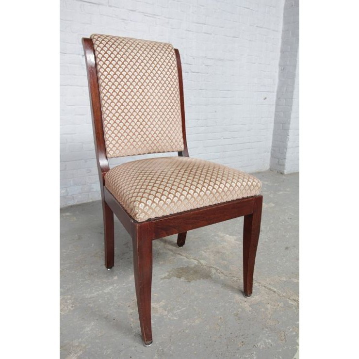 品番8510現地在庫販売ベルギー原産アンティーク家具マホガニー製ダイニングルーム9点セット1950年_画像9