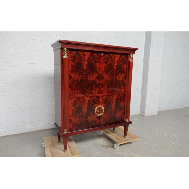 品番8510現地在庫販売ベルギー原産アンティーク家具マホガニー製ダイニングルーム9点セット1950年_画像6