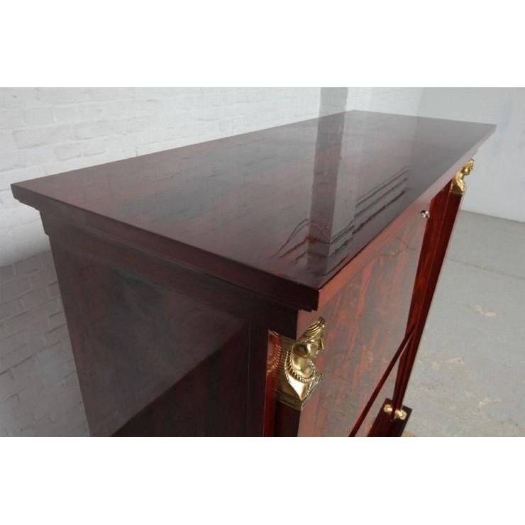 品番8510現地在庫販売ベルギー原産アンティーク家具マホガニー製ダイニングルーム9点セット1950年_画像7