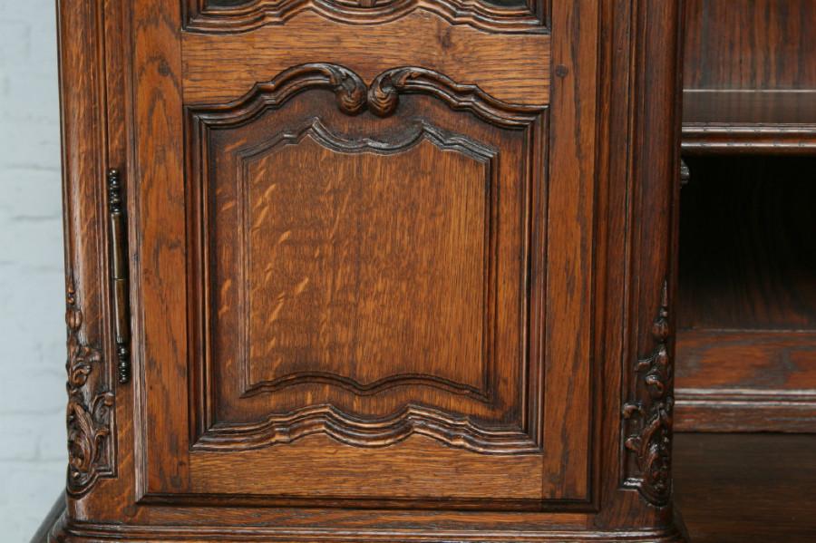 品番7302ヨーロッパ市場在庫品アンティーク家具ダイニング11点セット現地在庫商品1900年代フランス原産オーク製_画像5