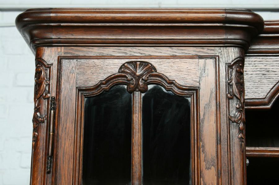 品番7302ヨーロッパ市場在庫品アンティーク家具ダイニング11点セット現地在庫商品1900年代フランス原産オーク製_画像4