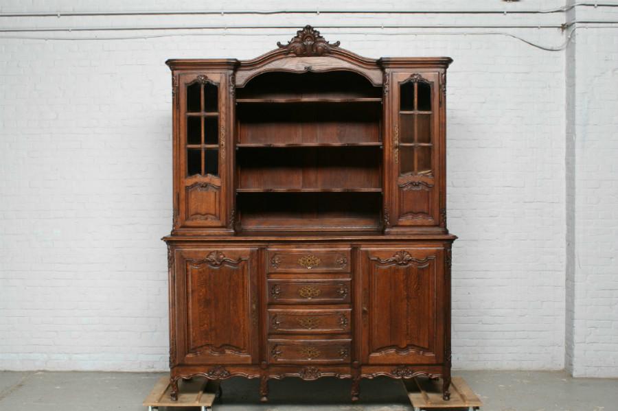 品番7302ヨーロッパ市場在庫品アンティーク家具ダイニング11点セット現地在庫商品1900年代フランス原産オーク製_画像9
