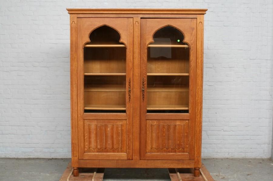 品番6743ヨーロッパ市場在庫品アンティーク家具ダイニング9点セット現地在庫商品1940年代ベルギー原産オーク製_画像6
