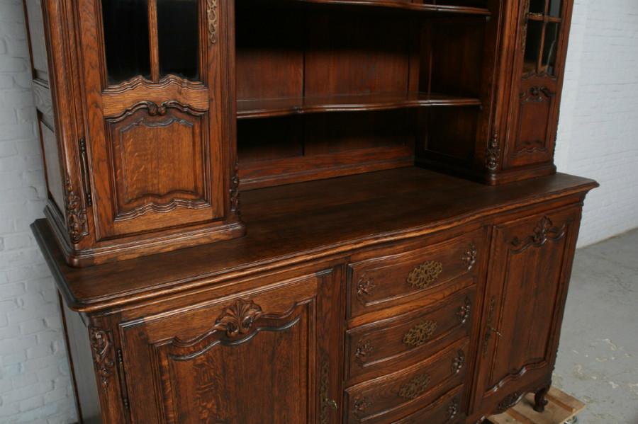 品番7302ヨーロッパ市場在庫品アンティーク家具ダイニング11点セット現地在庫商品1900年代フランス原産オーク製_画像6