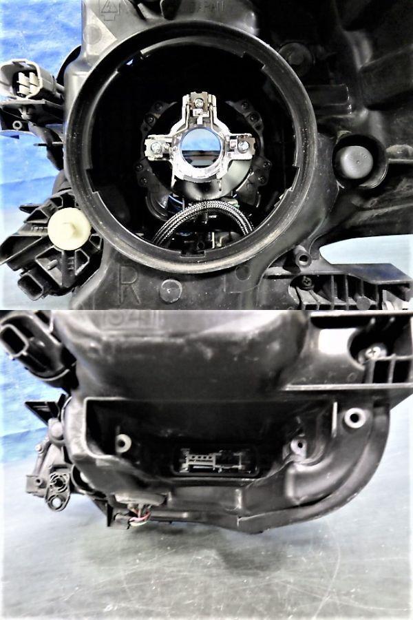 1687 スペーシア カスタム MK32S MK42S 右ライト HID 1872 35100-81M60 レンズ美品_画像3