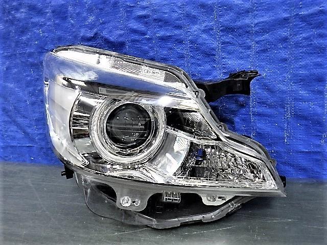 1687 スペーシア カスタム MK32S MK42S 右ライト HID 1872 35100-81M60 レンズ美品_画像1