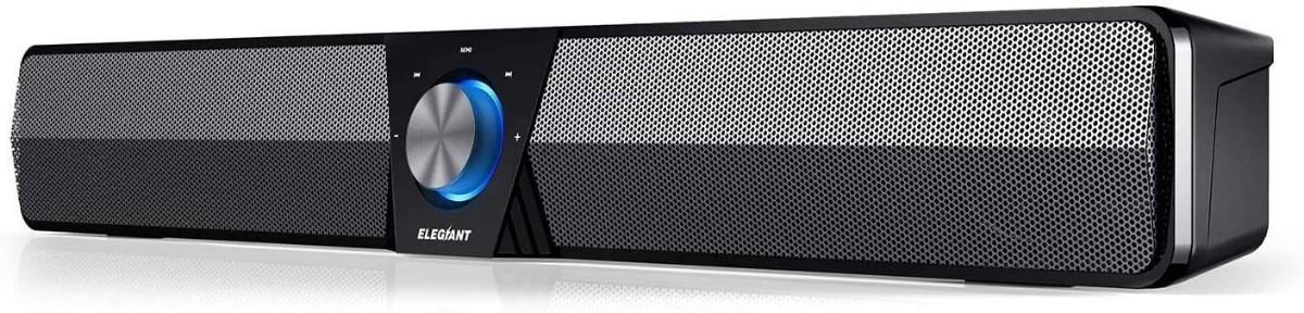スピーカー PC Bluetooth 5.0 ELEGIANT ワイヤレス充電式