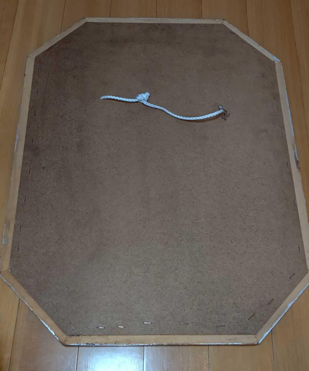 アンティーク調 ウォールミラー 壁掛け 鏡 クラシックスタイル ロココ調 レトロ 中古 送料無料 即決_画像8