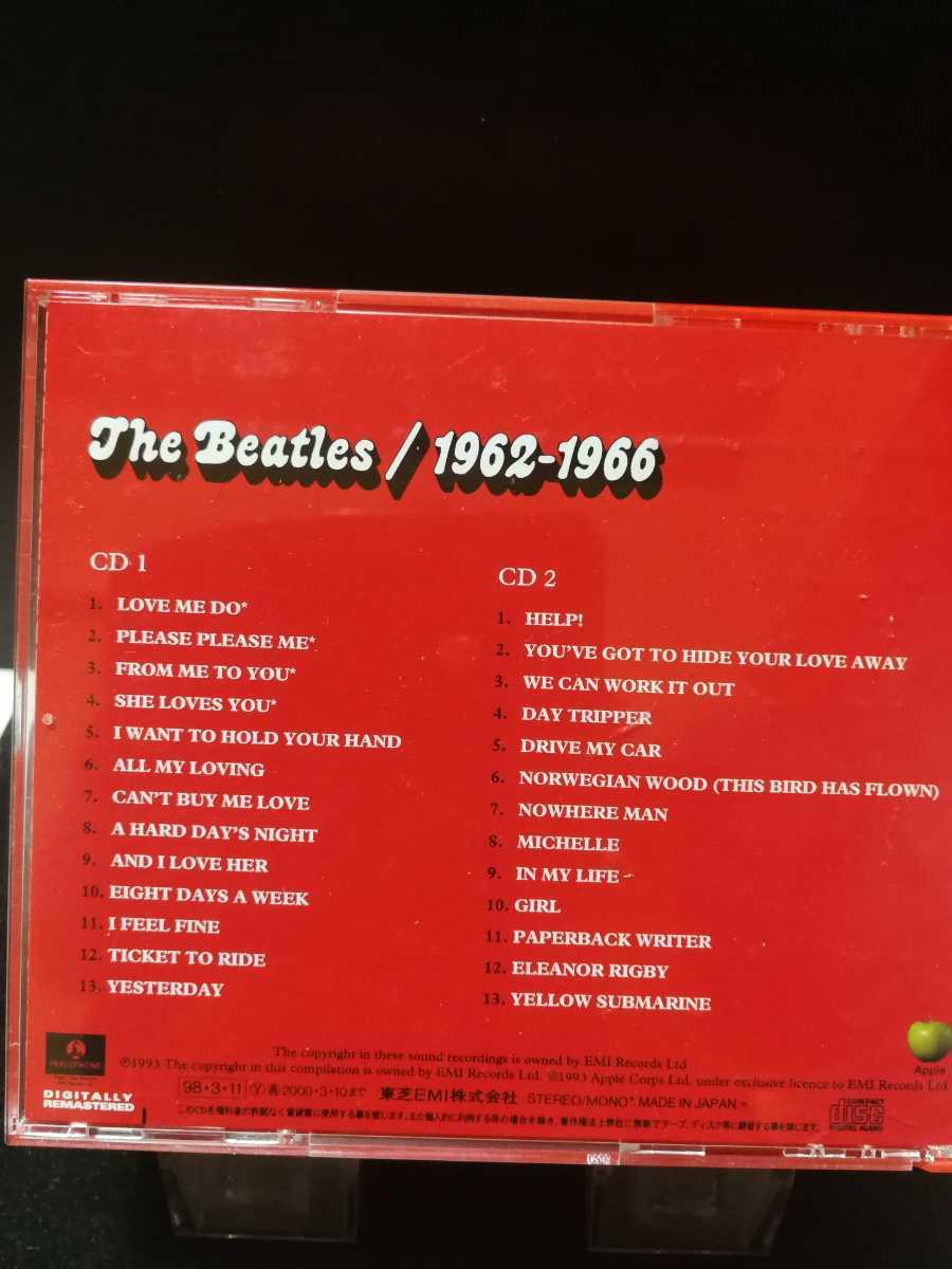 ザ・ビートルズ ミュージック2CD 帯付 1962~1966 赤盤 TOCP-51127-28 定額出品 即決価格 曲目画像掲載 同梱でも送料無料