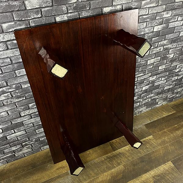 無垢 一枚板 木製 座卓 和風 ロー テーブル 和室 洋室 居間 座敷 机 ちゃぶ台 天然木 木材 インテリア 家具 ディスプレイ 札幌_画像5
