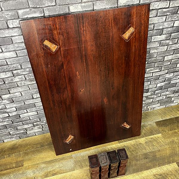 無垢 一枚板 木製 座卓 和風 ロー テーブル 和室 洋室 居間 座敷 机 ちゃぶ台 天然木 木材 インテリア 家具 ディスプレイ 札幌_画像6