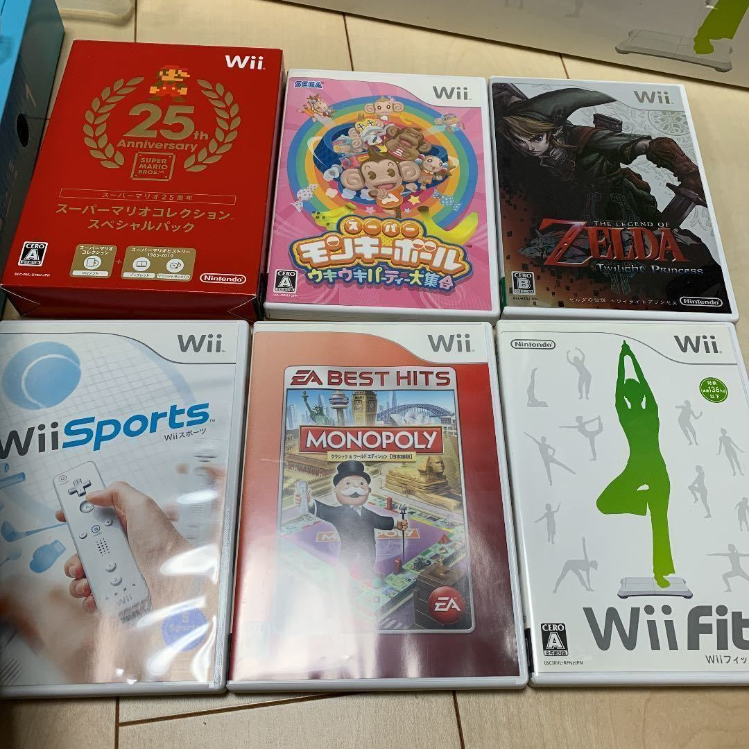 Wii 本体 & wii fit & ソフト