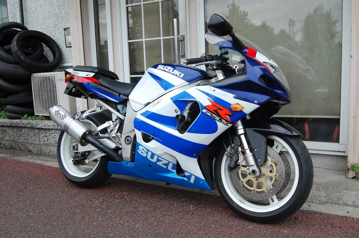 ★2000年 Suzuki GSX-R750 カナダスペック 逆車 車検R3/2まで!★_画像1