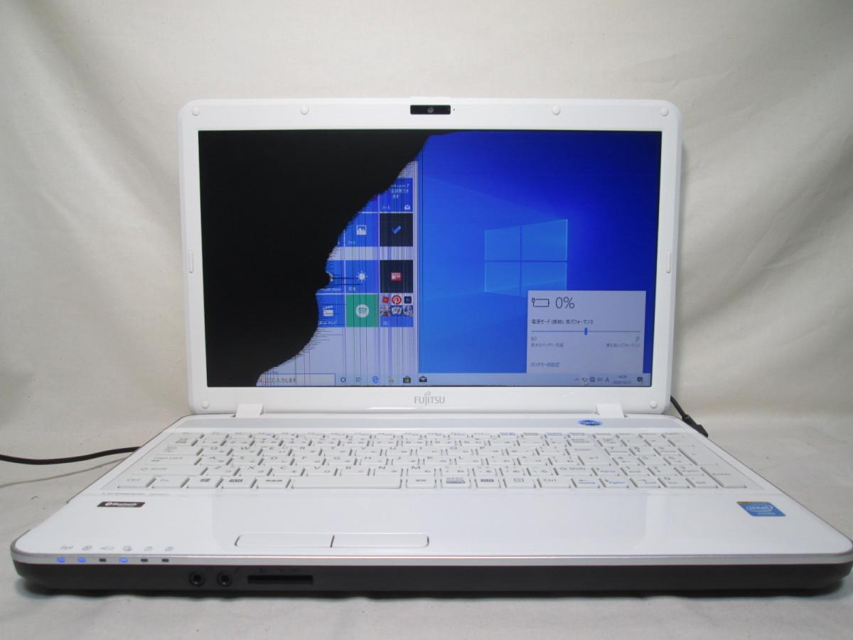 富士通 LIFEBOOK AH30/L Celeron B830 1.8GHz 4GB メモリ 500GB HDD 15.6インチ DVDマルチ 最新Win10 64bit Office Wi-Fi HDMI [77837]_画像1
