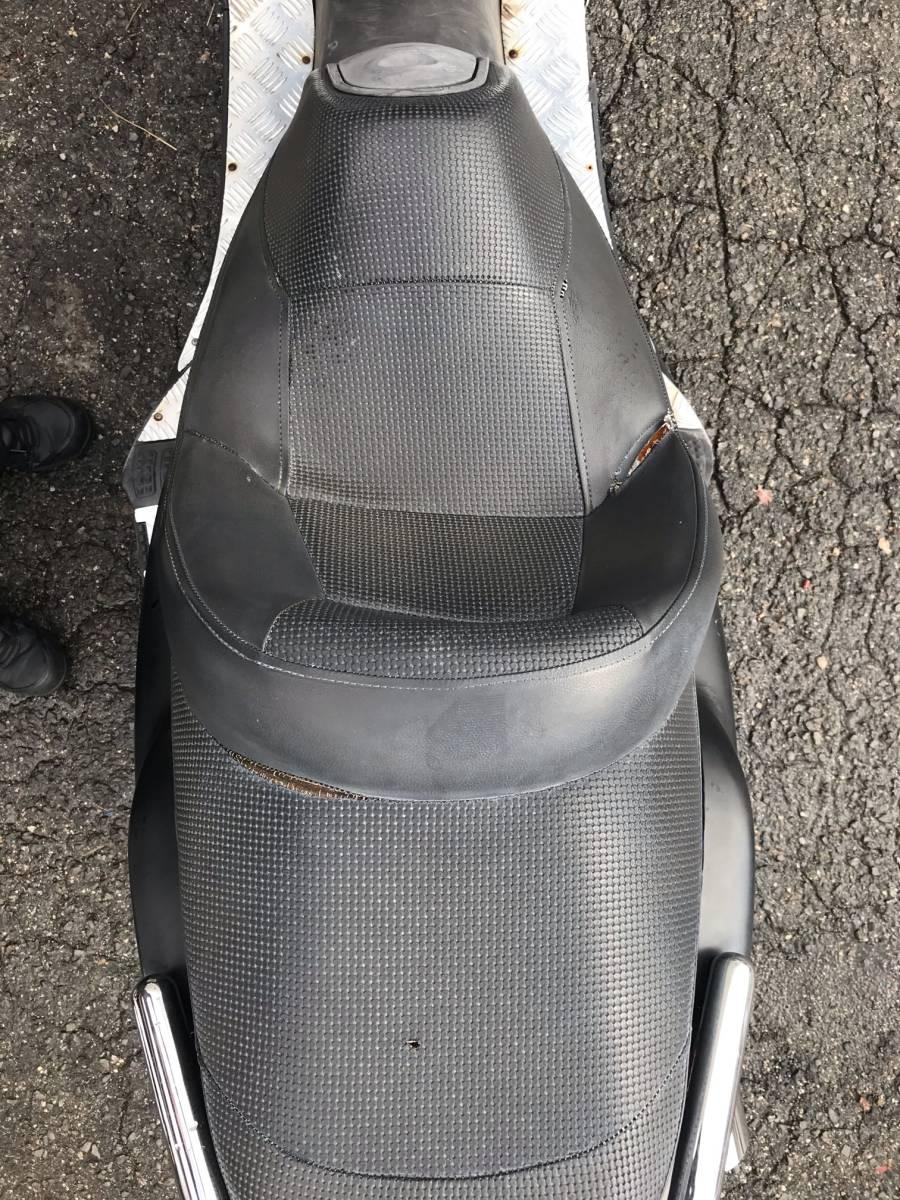 ヤマハ マジェスティ125 ジャンク車両 エンジン実働未確認 ワレや欠損有り 部品取りや再生ベース等に 富田林市から_画像6
