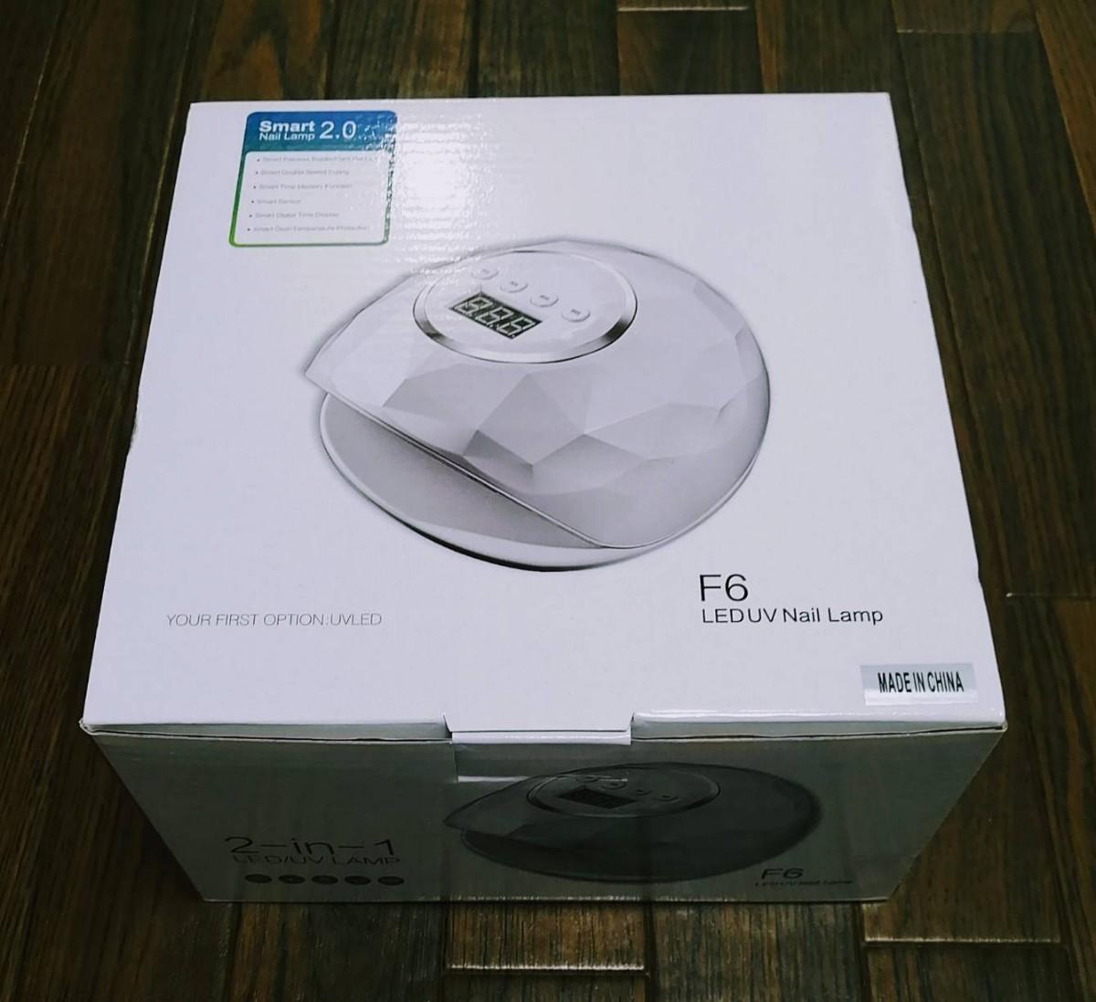 2020年最新版UV LEDネイルドライヤー ジェルネイルライト86Wハイパワー