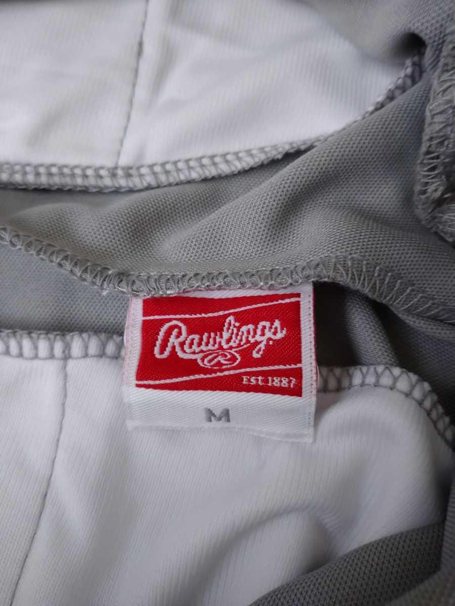 【米国版】 Rawlings ベースボール ストレート ロング パンツ Mサイズ グレー 日本未発売 ユニフォーム ローリングス メジャー 野球 灰 M_画像6