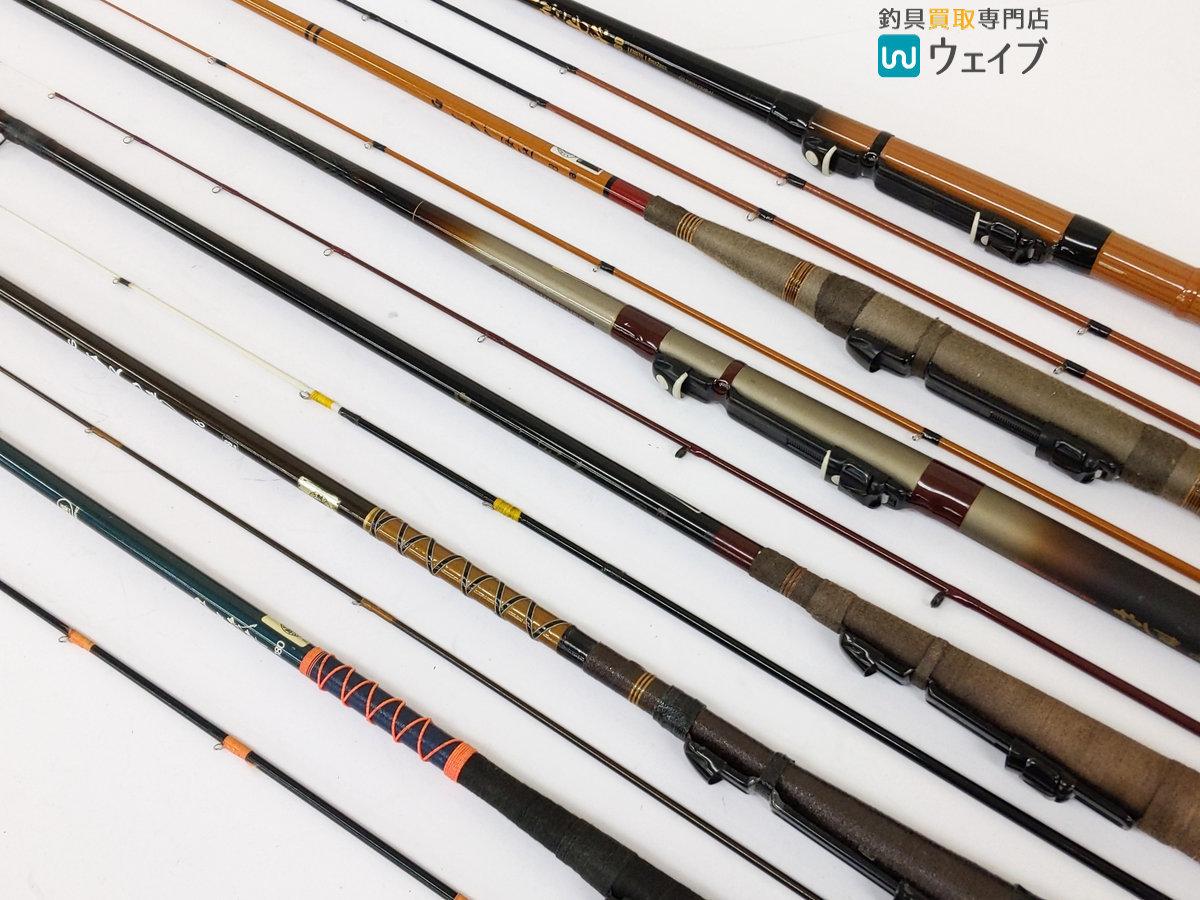 ダイワ やしま 06-180・リョービ HG イカダ海極 1.8・オリムピック チヌ筏竿 1号180 他 計6本 チヌ竿セット_160N137732 (8).JPG