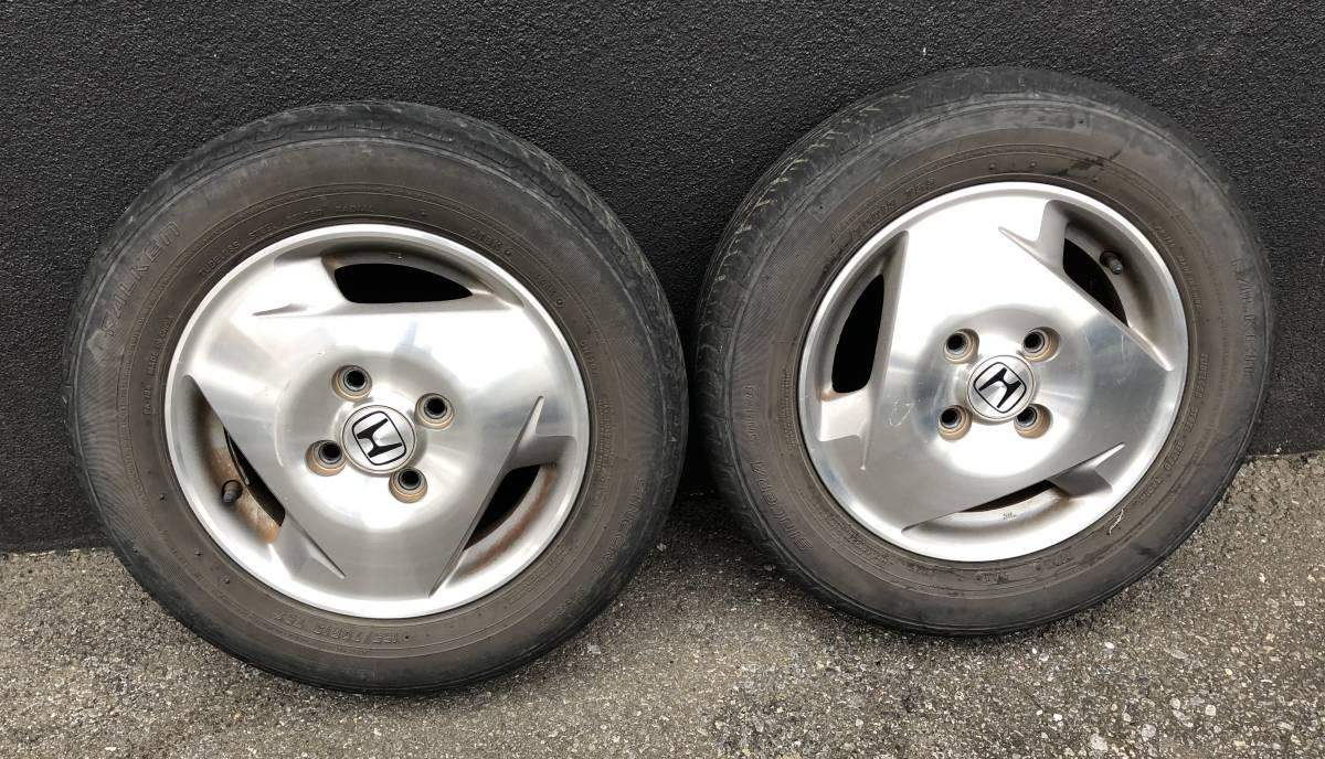 バモス ターボ Sパッケージ タイヤホイールセット 2本 155/70R13_画像1