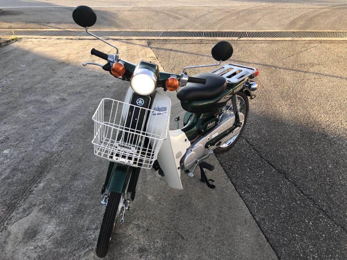 「ヤマハ YAMAHA メイト mate 50 BB-UA04J 22キロ 美車」の画像1