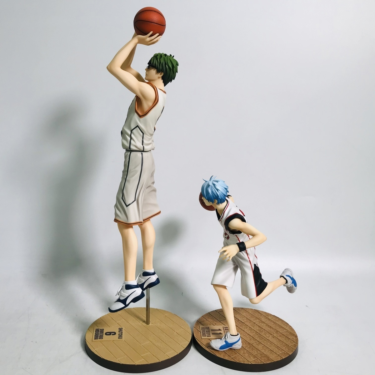 中古品 メガハウス 黒子のバスケ フィギュアシリーズ 黒子テツヤ 緑間真太郎 セット_画像5