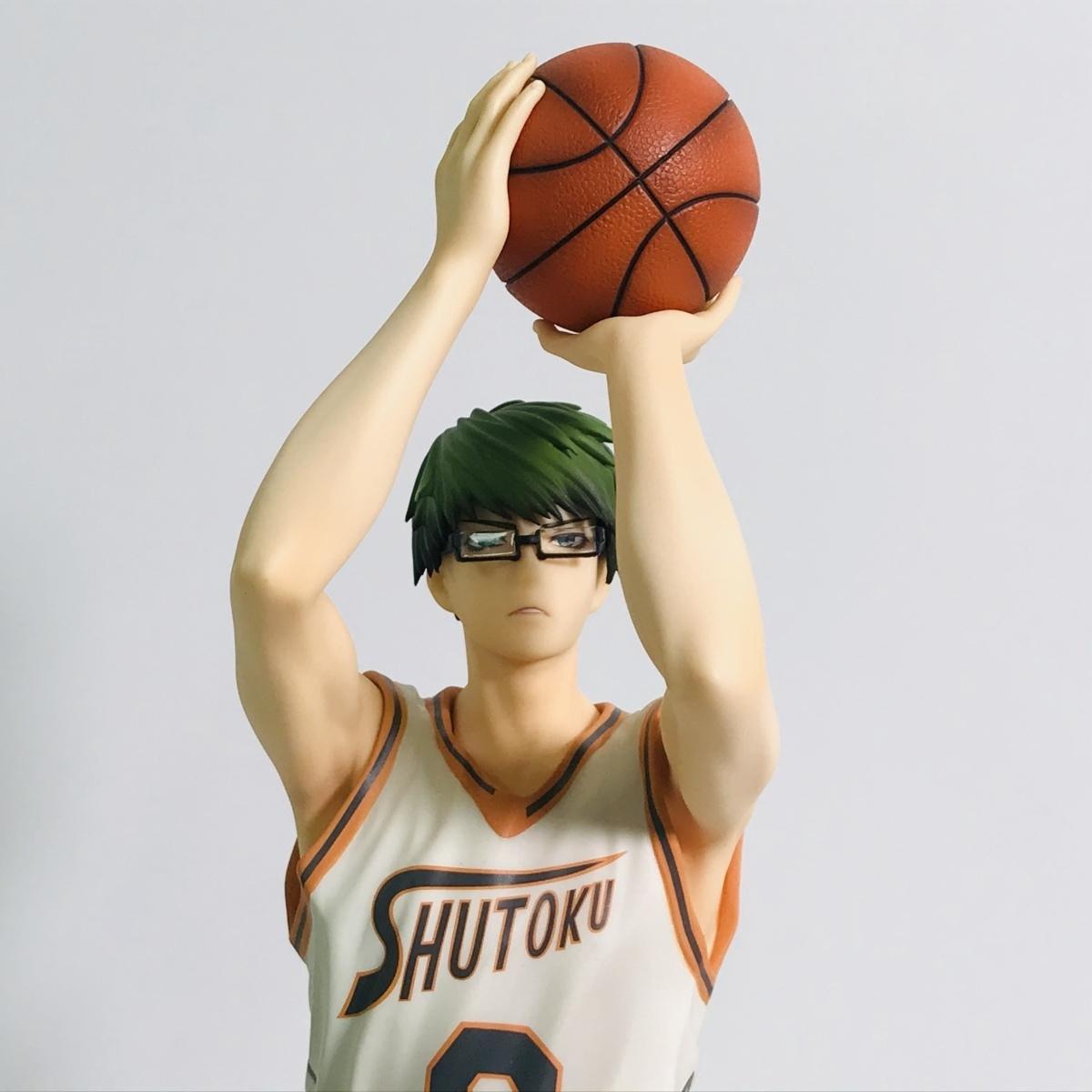 中古品 メガハウス 黒子のバスケ フィギュアシリーズ 黒子テツヤ 緑間真太郎 セット_画像2