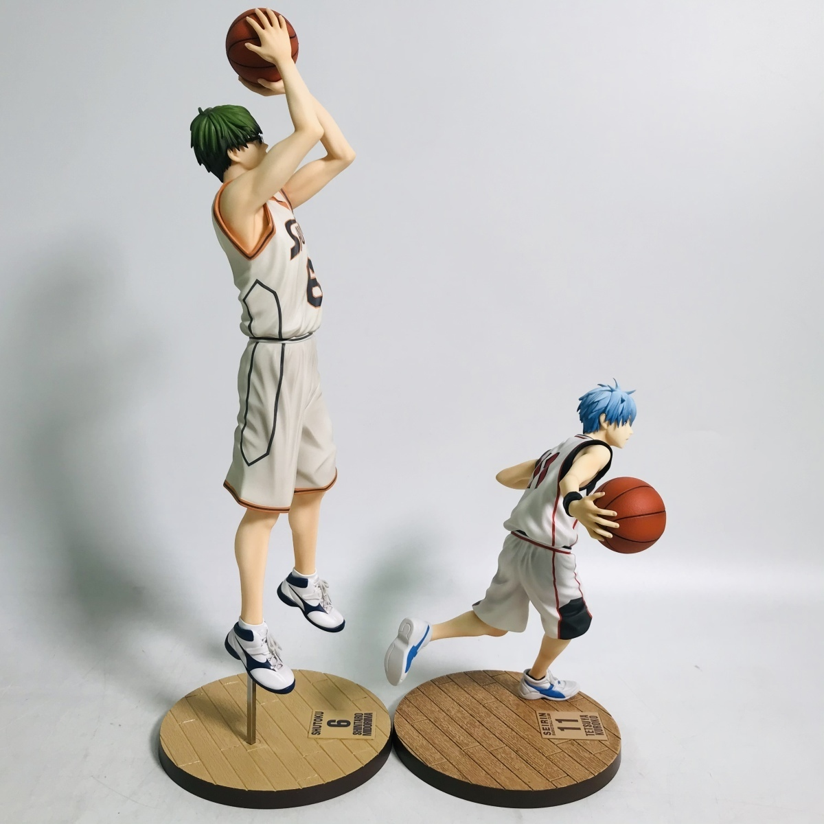 中古品 メガハウス 黒子のバスケ フィギュアシリーズ 黒子テツヤ 緑間真太郎 セット_画像6