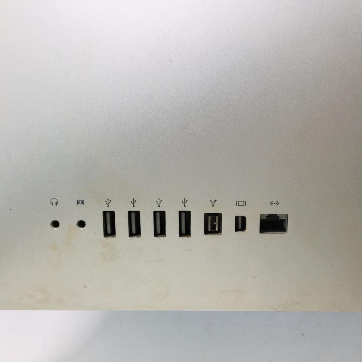 ジャンク iMac 21.5インチ(Mid 2010) Core i3 3.06GHz/4GB/500GB MC508J/A_画像6