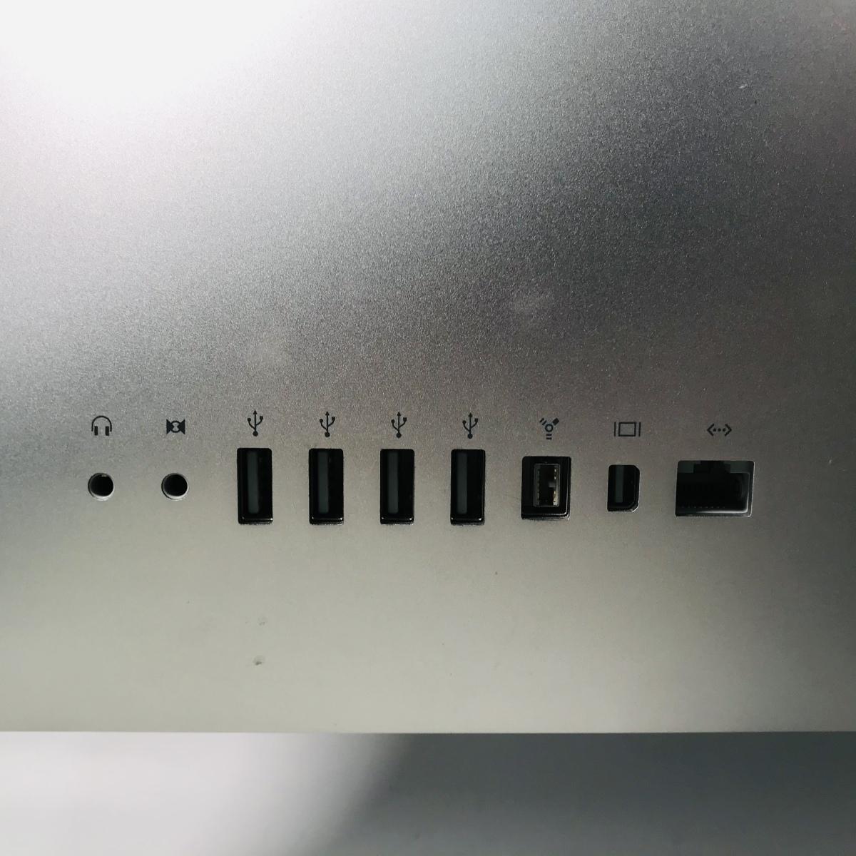 iMac 21.5インチ(Mid 2010) Core i3 3.2GHz/4GB/1TB MC509J/A 動作確認済み_画像6
