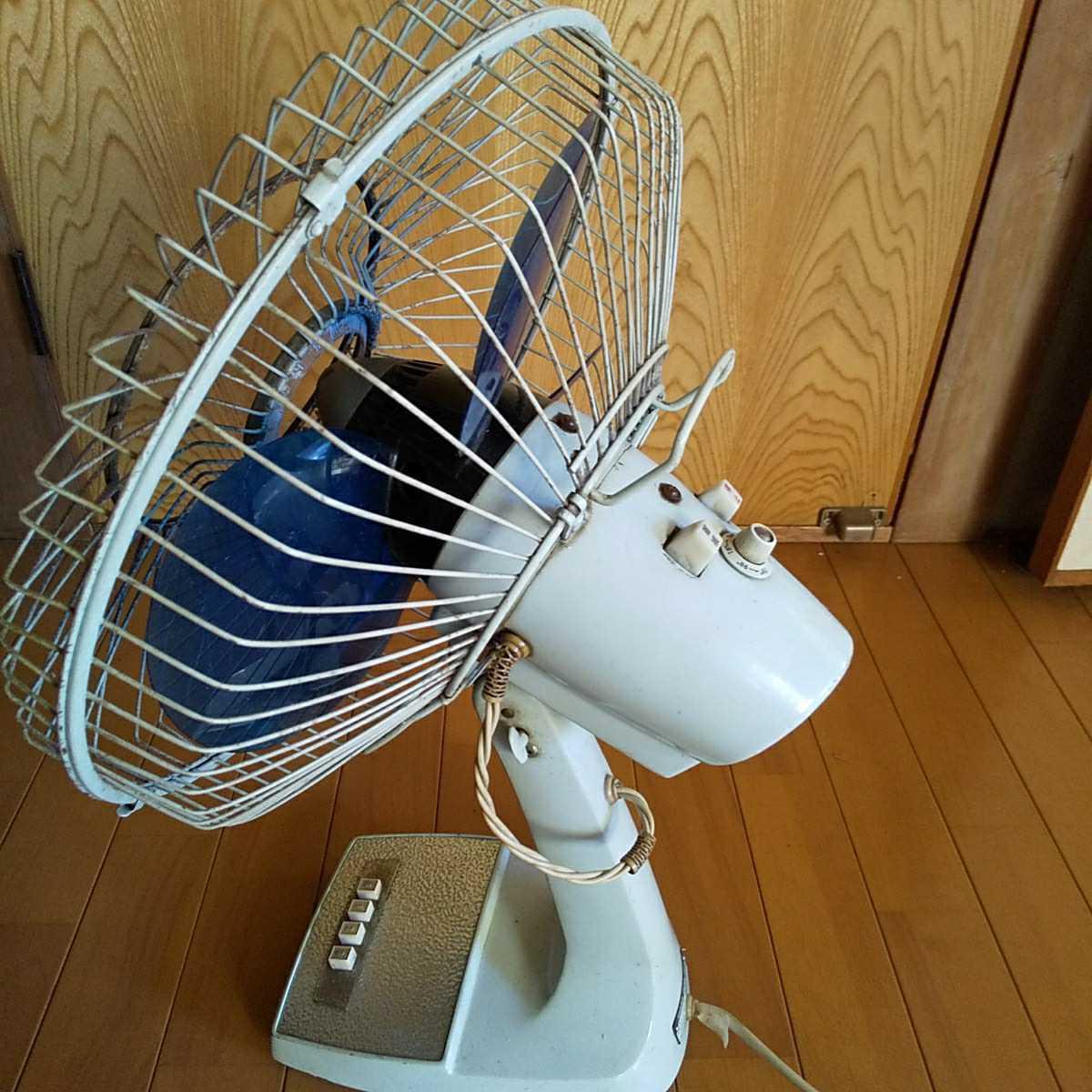★☆SHARP/シャープ 昭和レトロ扇風機 デスクファン 風強め☆★アンティーク _画像6