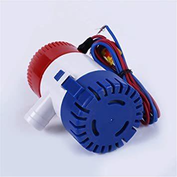 「LOOKGOU ビルジポンプ 12V 小型 水中 ポンプ 1100GPH 適応 ホース 内径 28.5 mm ハイパワー」の画像3