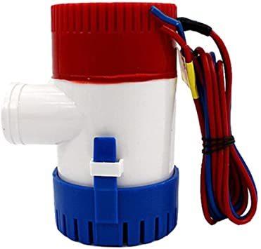 「LOOKGOU ビルジポンプ 12V 小型 水中 ポンプ 1100GPH 適応 ホース 内径 28.5 mm ハイパワー」の画像2