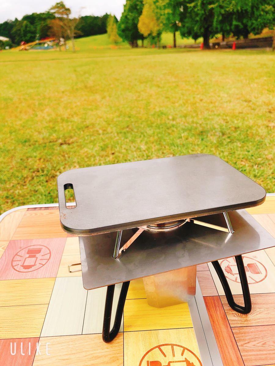 鉄板 ラージ トランギア メスティン 黒皮鉄板 6ミリ ミリキャンプ