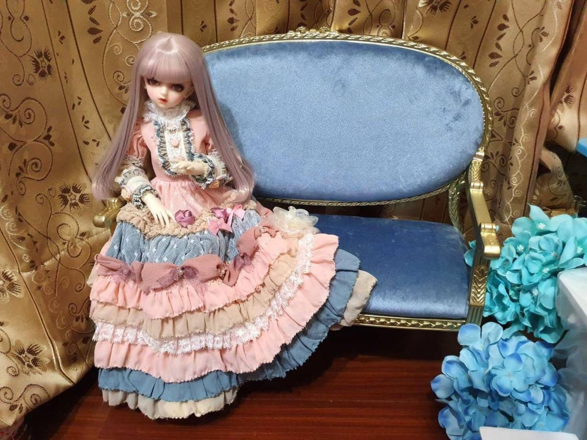 BJDドール用椅子 ソファー SD/MSD/MDDサイズ通用 色のオーダー可能 家具 インテリア 球体関節人形 doll_画像4