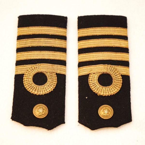 1769D1◆肩章◆船長◆海員グッズ◆船舶◆記章◆階級章◆航海士◆_画像1
