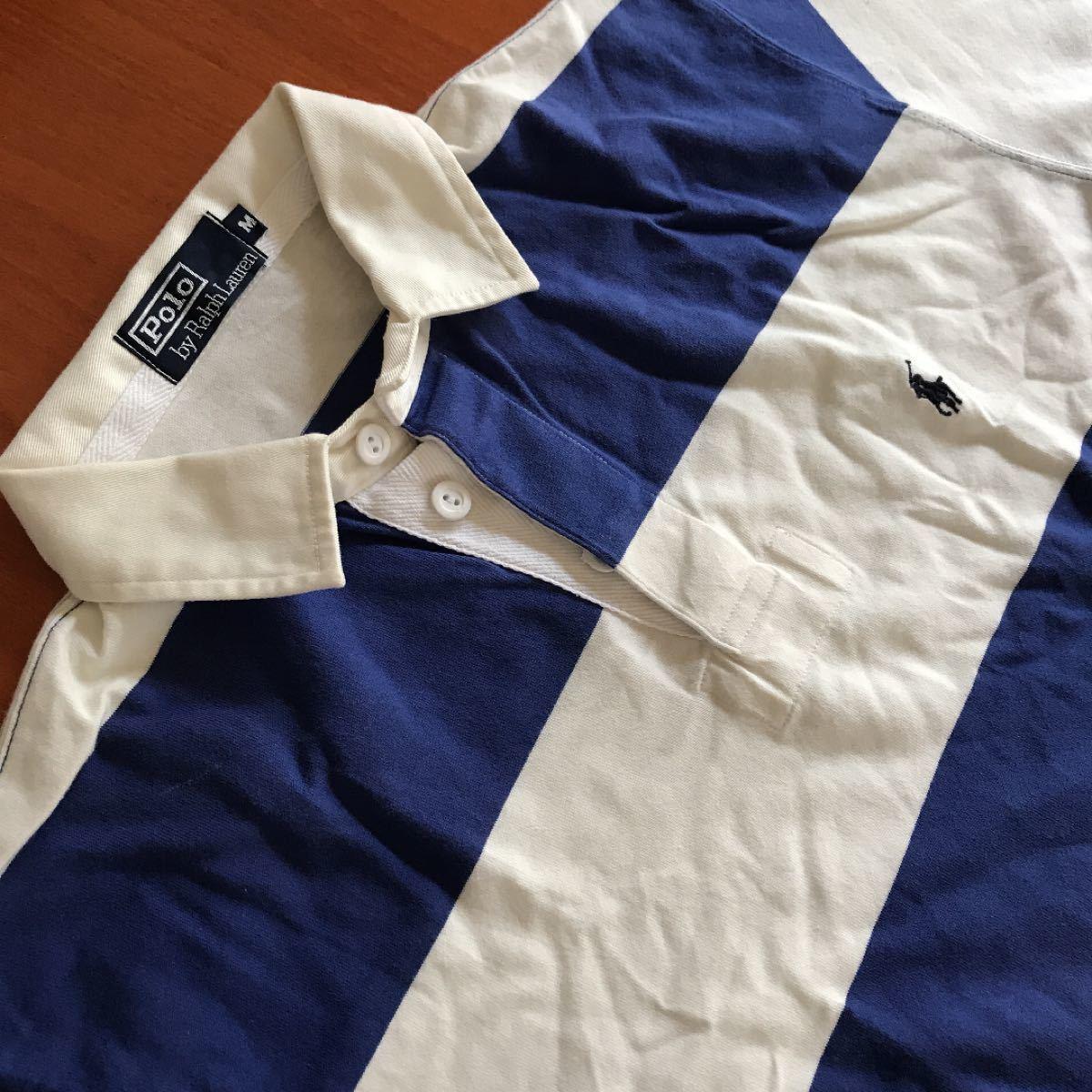 ポロラルフローレン半袖ポロシャツ M