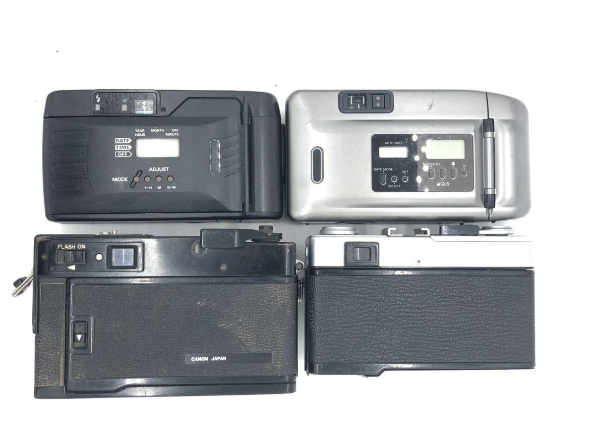 ジャンク(3) リコー RICOH FF-9D コニカ KONICA BIG MINI キャノン Canon A35 Datelux オリンパス OLYMPUS 35ED_画像3