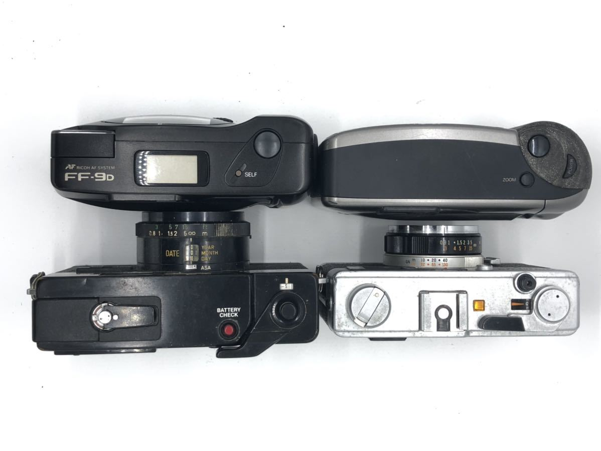 ジャンク(3) リコー RICOH FF-9D コニカ KONICA BIG MINI キャノン Canon A35 Datelux オリンパス OLYMPUS 35ED_画像2
