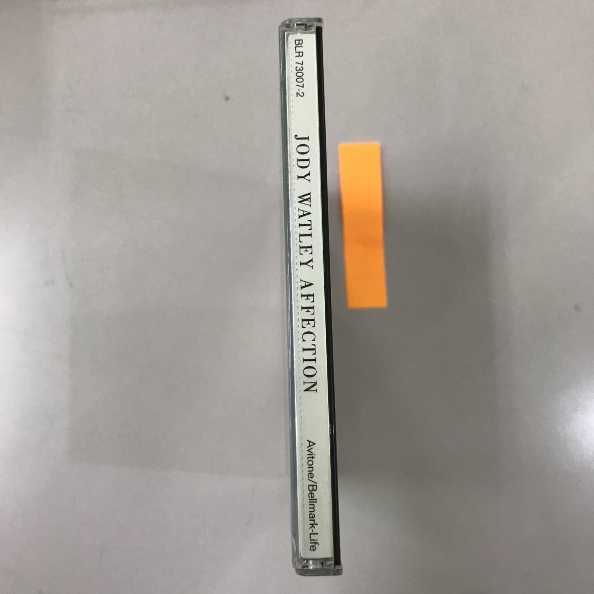CD 中古☆【洋楽】JODY WATLEY AFFECTION