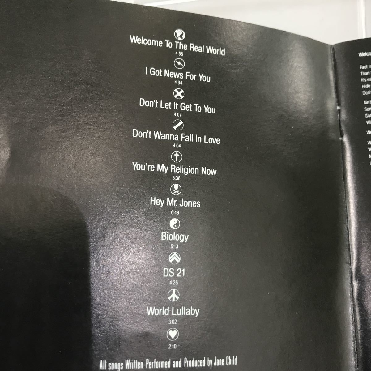 CD 中古☆【洋楽】JANE CHILD