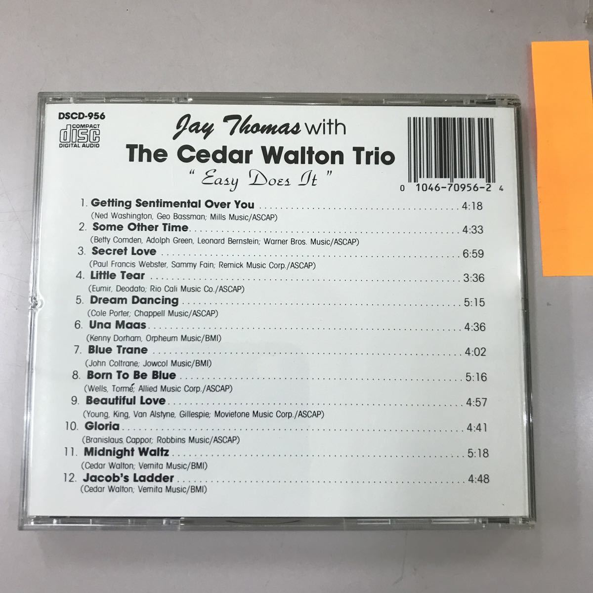 CD 中古☆【洋楽】JAY THOMAS WITH THE CHDAR WALTON WALTON TRIO