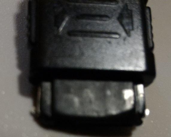 訳あり品 SoftBank ソフトバンク ACアダプタ SHCAA1 シャープ 携帯電話用充電器 ガラケー SHARP vodafone ボーダフォン_画像6