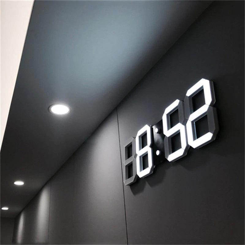 送料無料!!インテリア 壁掛け時計 デジタル ウォールクロック LED Digital Numbers Wall Clock インテリア オフィス クラシック_画像1