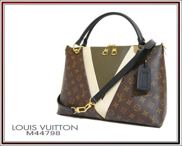 ☆ Bon état Louis Vuitton Monogram 2Way Sac fourre-tout à bandoulière V Fourre-tout MM M44798 Taxe d'expédition incluse ! Sac, sac & ligne monogramme & sac à bandoulière