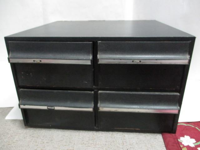 VHS ビデオテープ ケース 収納 ラック (2段式)48本収納 中古_画像1