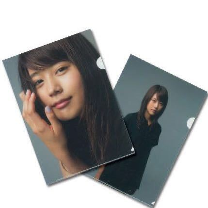 有村架純 クリアファイル 2枚セット◆KASUMI ARIMURA 2枚組クリアホルダー_参考画像