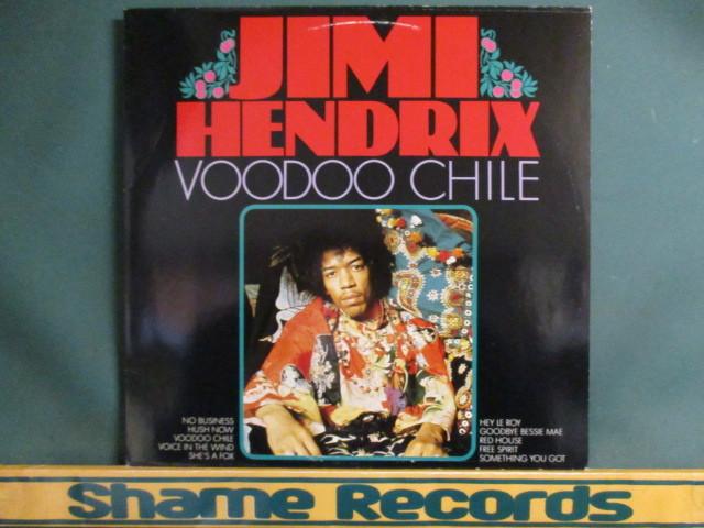 Jimi Hendrix : Voodoo Chile LP // She's A Fox / Something You Got / Free Spirit / 落札5点で送料無料_画像1
